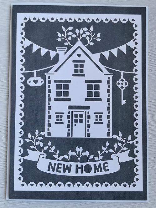 Dark grey new home card