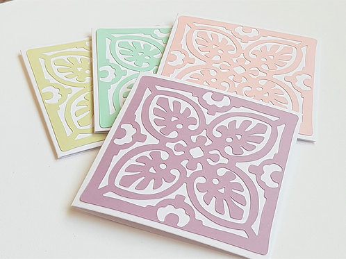 Four pack of thank you cards