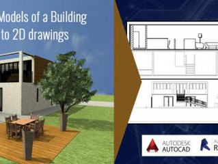 Why 3D CAD Models of a Building are translated to 2D drawings