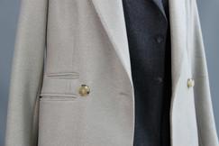 G&G Herringbone Coat, over the top of G&G Cashmere Blazer