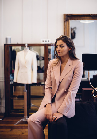 G&G Pink Double breasted Blazer
