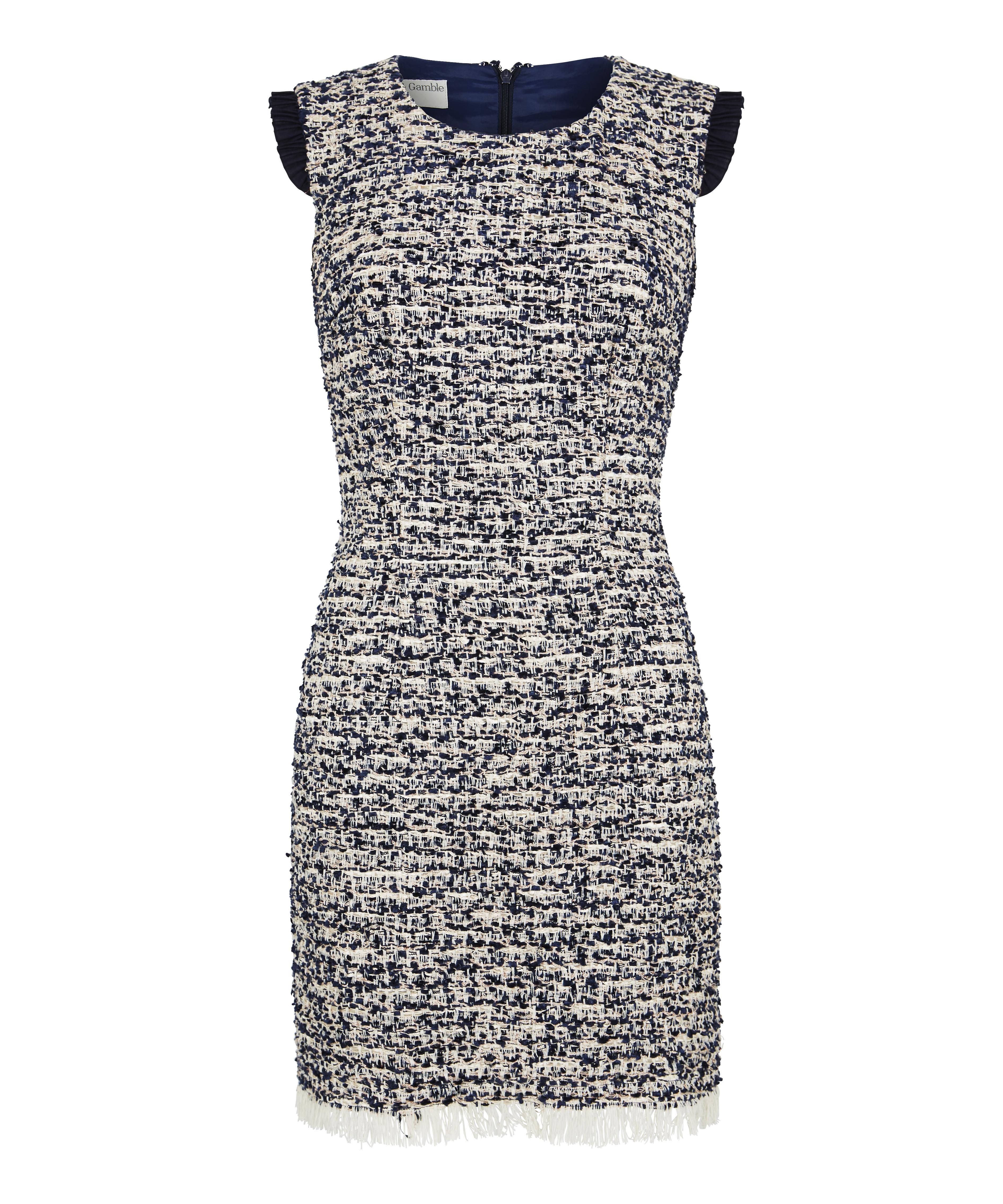 Copy of Blue Tweed Dress_7