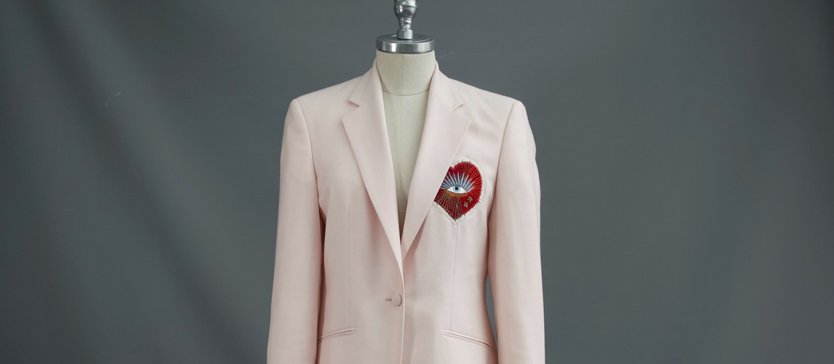 G&G Pink Embroidered Jacket