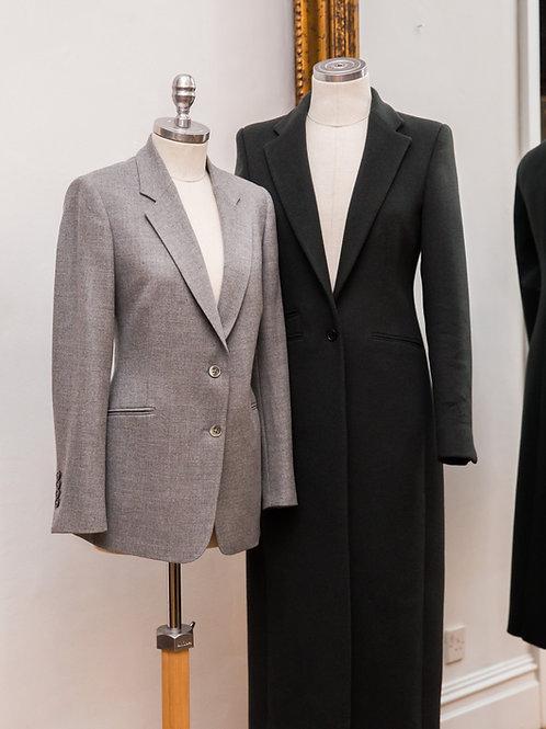 G&G Pale Grey Cashmere Blazer