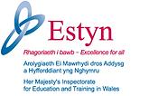 The Logos for Estyn