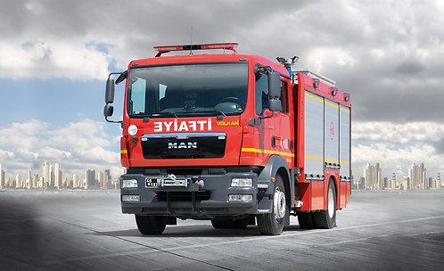 Urban Fire Fighting Vehicle