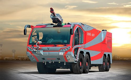 Airport Fire Fighting Vehicle