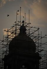 Victoria Memorial under renovation