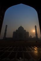 Early morning magic at Taj