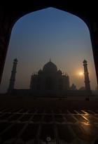 Sunrise, Taj and Symmetry