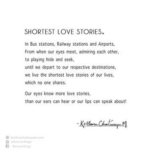 Shortest Love Stories