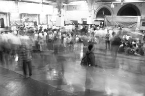 Rush at Chatrapati Shivaji Terminal