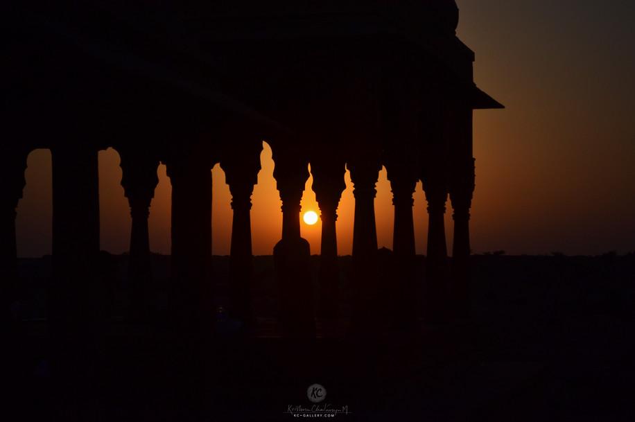 Sunset at Vyas Chhatri 2