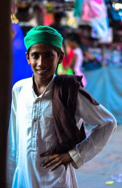 A boy in Jaipur market