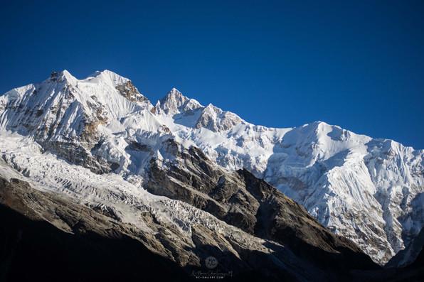Part of kanchenjunga range