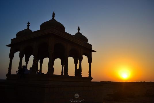 Sunset at Vyas Chhatri