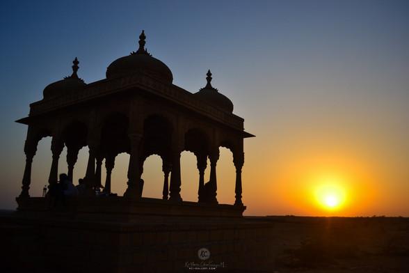 Sunset at Vyas Chhatri 1