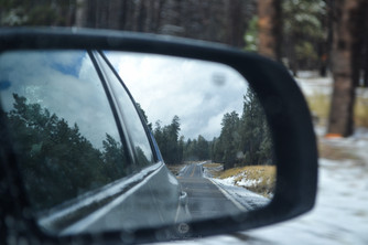 Near Flagstaff, on the way to Canyons