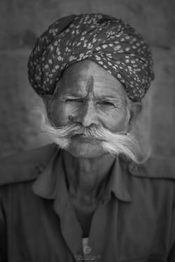Watchman near Jain temple - Jaisalmer