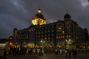 Hotel Taj during Twilight