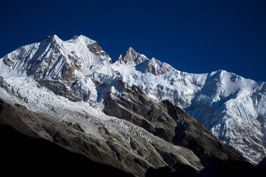 Landscape - Close up of mountains @ Goechala trek