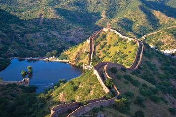 Nahargarh Fort walls
