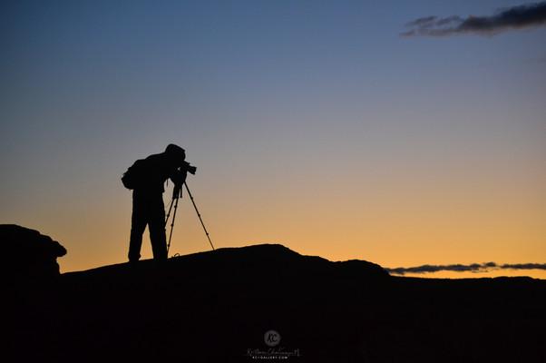 Photographer near Horseshoe bend