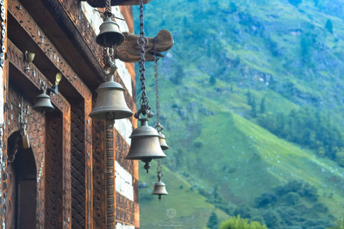 Temple bells on the trail
