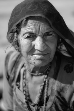 Woman from a Rajsthan village