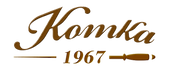 logo conta png marron Komka-Churrascaria