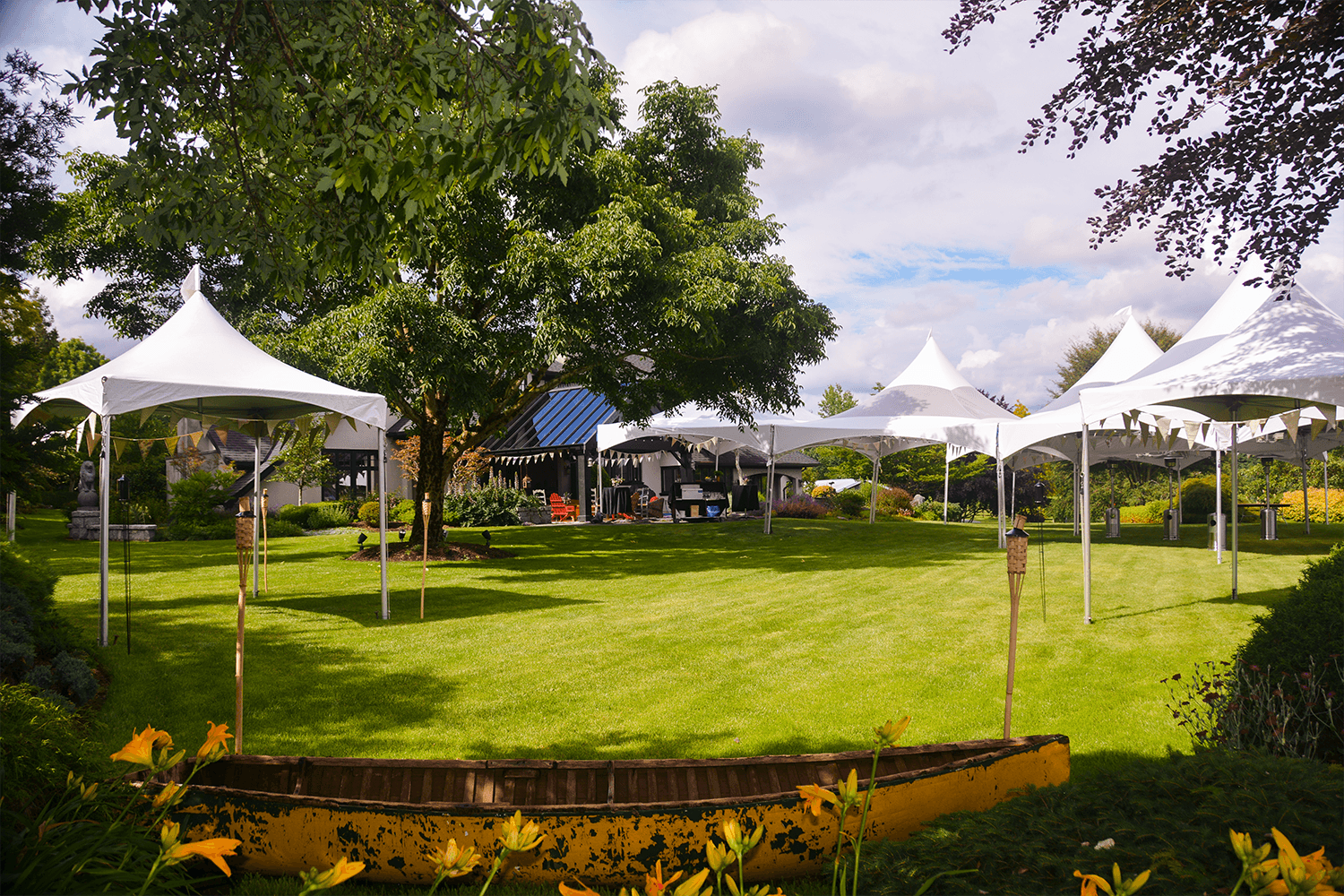 Mixed Square Marquee Tents