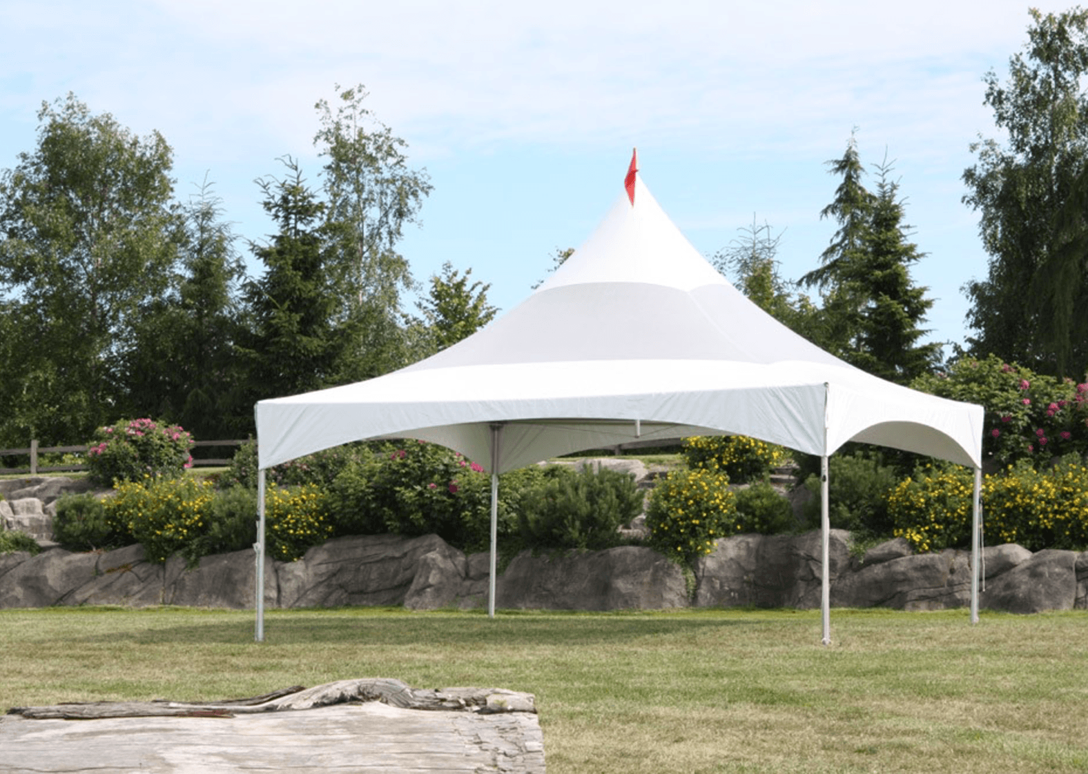 Single 20x20 Marquee Tent