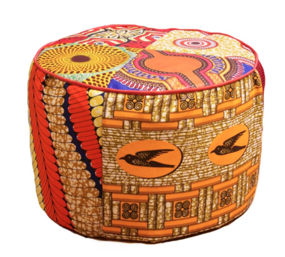 Le pouf en wax on adore !