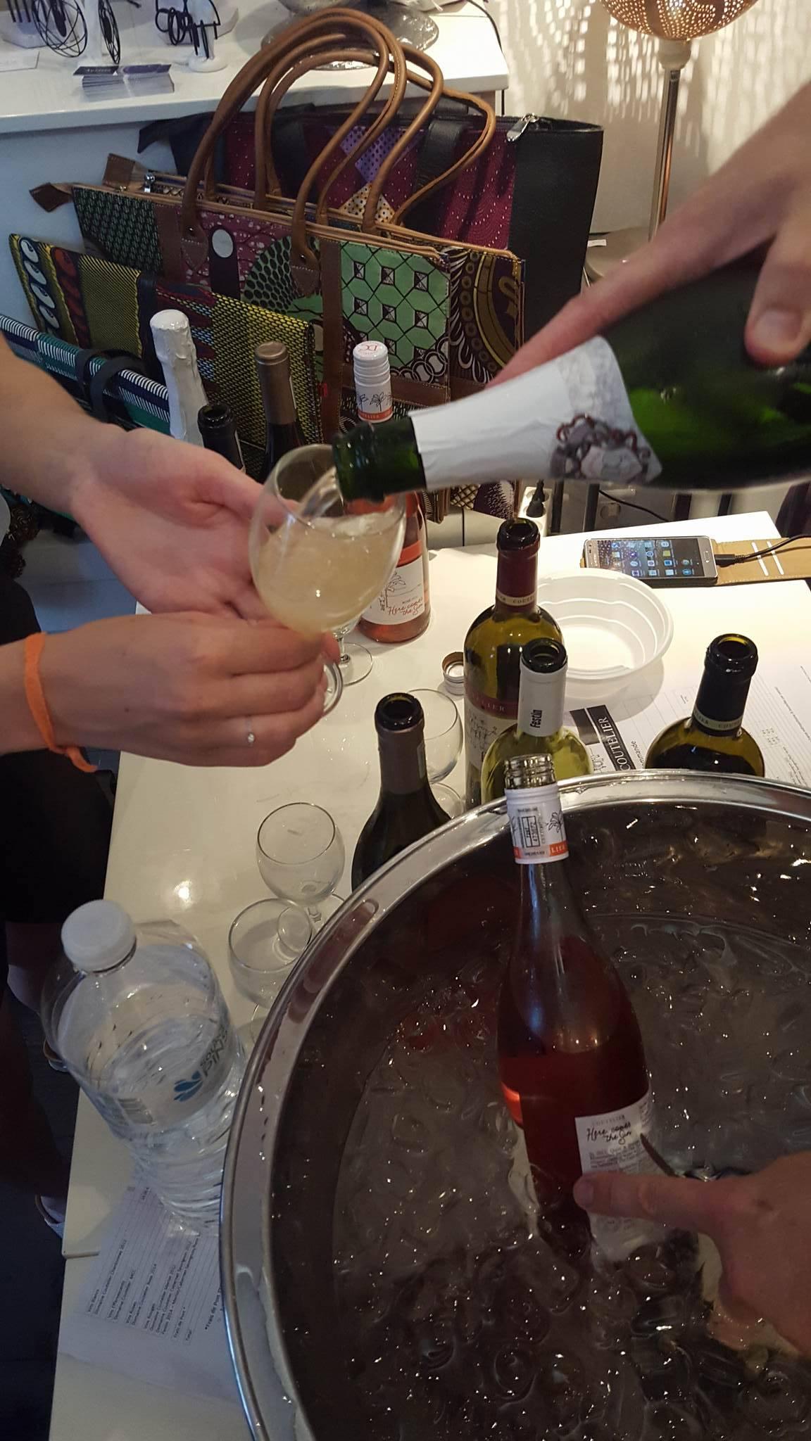 Dégustation vins Coutelier