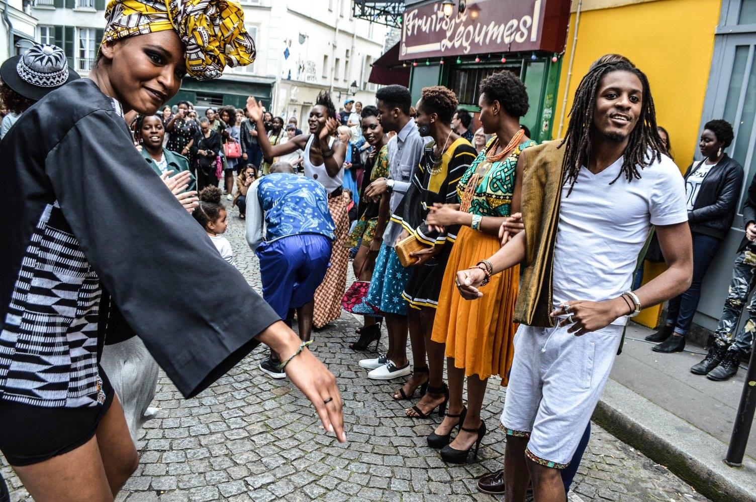 Défilé Africamontmartre