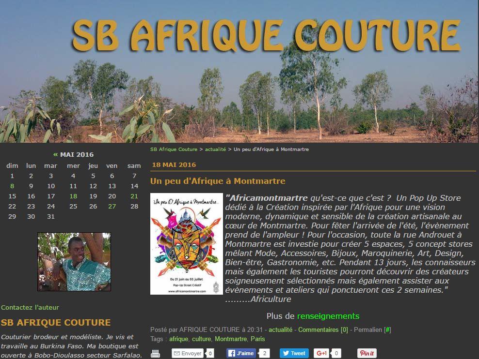 AFRIQUECOUTURE