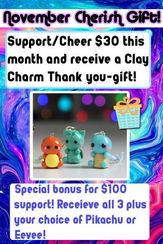 Cherish gift 2018 11 pokemon polymer cla