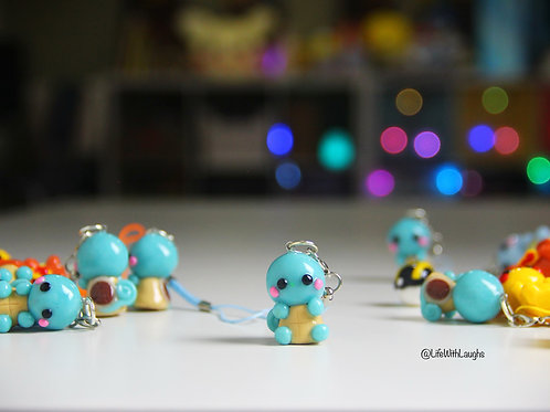 Squirtle - Polymer Clay Charm