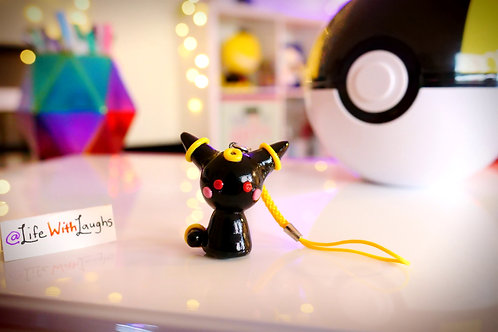 Umbreon - Polymer Clay Charm