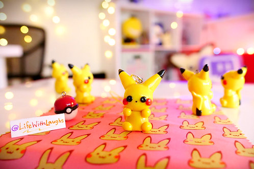 Pikachu - Polymer Clay Charm