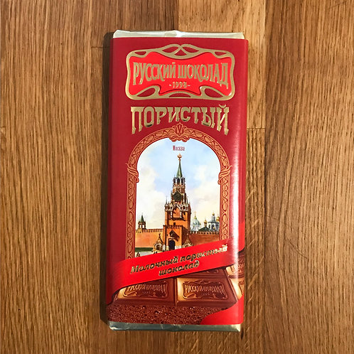 Aerated Milk chocolate Russky Shokolad