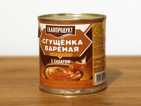 Imported sweet condensed milk