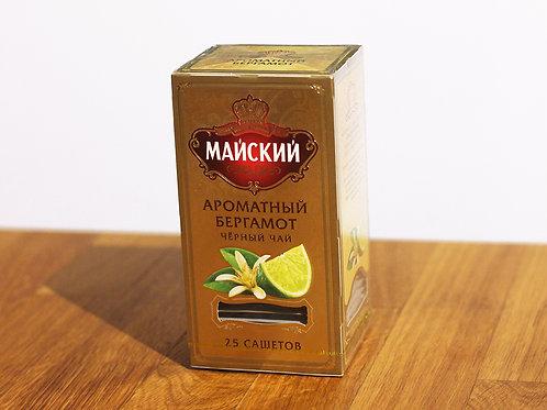 Thé noir à la bergamote Mayskiy