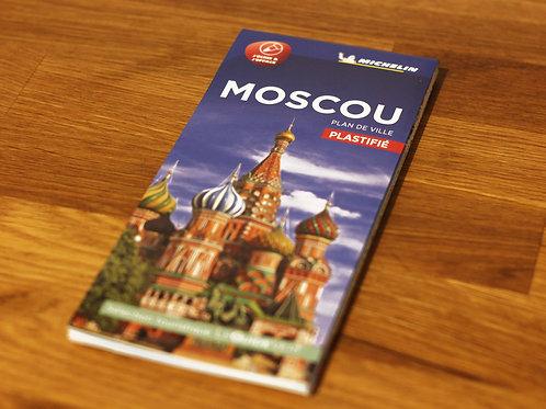 Plan de ville plastifié de Moscou par Michelin