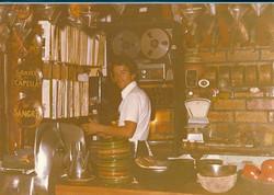 En Josep i els seus discos l'any 1977