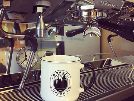 Exciting day here yesterday - our beautiful espresso machine arrived, as did our delicious beans.jpg