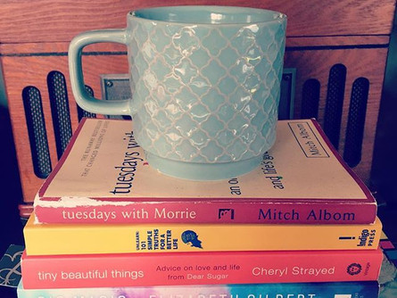 Books + Coffee = 2 of our favorites