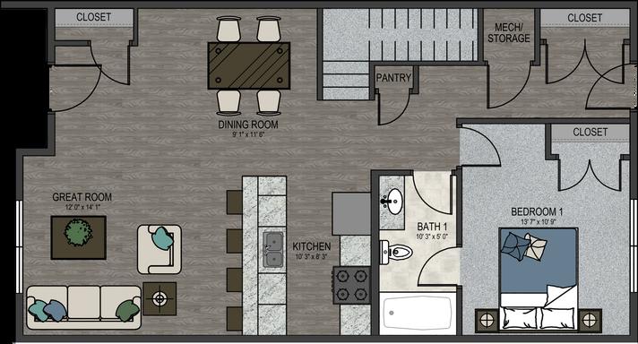 The Alexander Interior Unit - 1st Floor