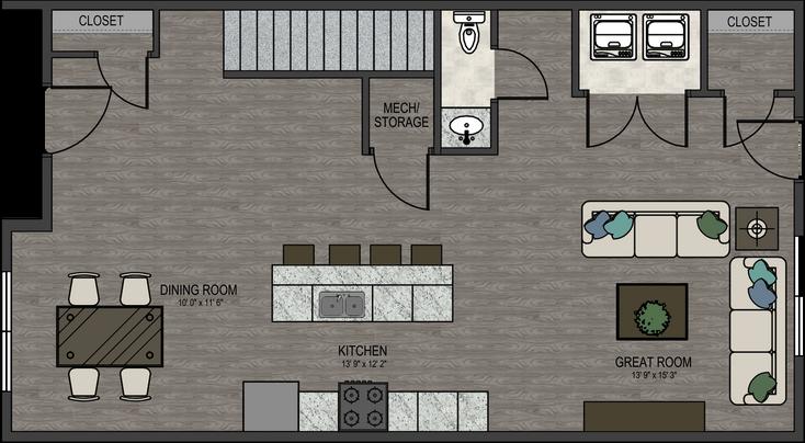 The Douglas Interior Unit - 1st Floor