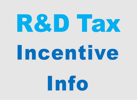 R&D Tax Incentive  Information & Resources